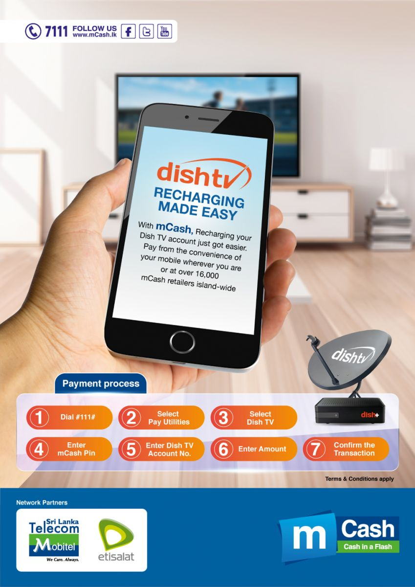 mCash DishTV | Mobitel